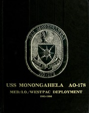 1986 Edition, Monongahela (AO 178) - Naval Cruise Book