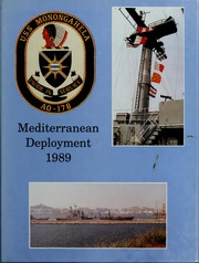 1989 Edition, Monongahela (AO 178) - Naval Cruise Book