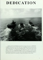 Page 5, 1996 Edition, Monongahela (AO 178) - Naval Cruise Book online yearbook collection