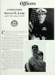 Page 9, 1996 Edition, Monongahela (AO 178) - Naval Cruise Book online yearbook collection