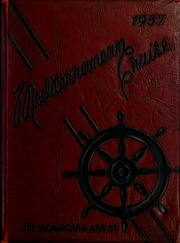 Page 1, 1957 Edition, Monrovia (APA 31) - Naval Cruise Book online yearbook collection