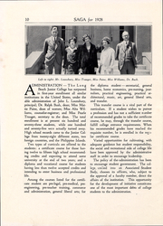 Page 11, 1928 Edition, Long Beach City College - Saga Yearbook (Long Beach, CA) online yearbook collection