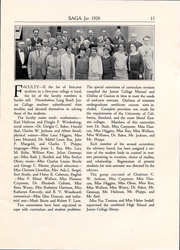 Page 12, 1928 Edition, Long Beach City College - Saga Yearbook (Long Beach, CA) online yearbook collection