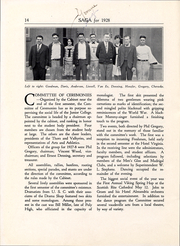 Page 15, 1928 Edition, Long Beach City College - Saga Yearbook (Long Beach, CA) online yearbook collection