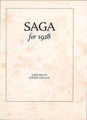 Page 4, 1928 Edition, Long Beach City College - Saga Yearbook (Long Beach, CA) online yearbook collection