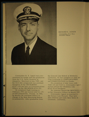 Page 10, 1966 Edition, Monticello (LSD 35) - Naval Cruise Book online yearbook collection