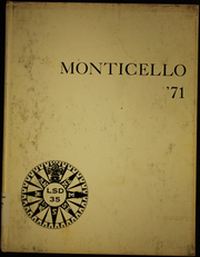 1971 Edition, Monticello (LSD 35) - Naval Cruise Book