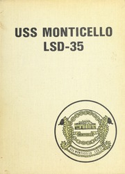 1973 Edition, Monticello (LSD 35) - Naval Cruise Book