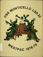 1979 Edition, Monticello (LSD 35) - Naval Cruise Book