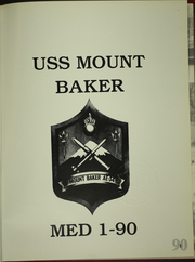 Page 5, 1990 Edition, Mount Baker (AE 34) - Naval Cruise Book online yearbook collection