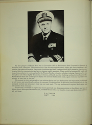 Page 8, 1972 Edition, Mount Hood (AE 29) - Naval Cruise Book online yearbook collection