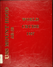 1987 Edition, Mount Hood (AE 29) - Naval Cruise Book