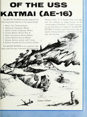 Page 7, 1961 Edition, Mount Katmai (AE 16) - Naval Cruise Book online yearbook collection