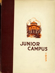 1933 Edition, Los Angeles Junior College - Junior Campus Yearbook (Los Angeles, CA)