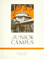 Page 7, 1933 Edition, Los Angeles Junior College - Junior Campus Yearbook (Los Angeles, CA) online yearbook collection