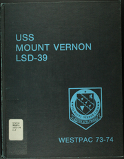 Page 1, 1974 Edition, Mount Vernon (LSD 39) - Naval Cruise Book online yearbook collection