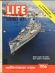 Newport News (CA 148) - Naval Cruise Book online yearbook collection, 1956 Edition, Page 1