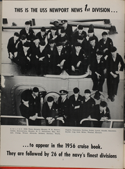 Page 6, 1956 Edition, Newport News (CA 148) - Naval Cruise Book online yearbook collection
