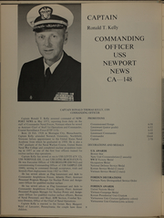 Page 12, 1973 Edition, Newport News (CA 148) - Naval Cruise Book online yearbook collection