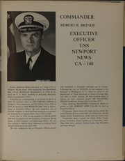 Page 15, 1973 Edition, Newport News (CA 148) - Naval Cruise Book online yearbook collection