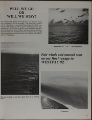 Page 17, 1992 Edition, Prairie (AD 15) - Naval Cruise Book online yearbook collection