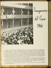 Page 10, 1966 Edition, Central University of Mexico - Fin De Curso Yearbook (Mexico) online yearbook collection