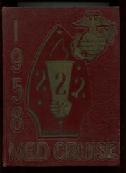 1958 Edition, Second Battalion Marines Lebanon - Cruise Book