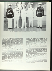 Page 9, 1966 Edition, Albany (CG 10) - Naval Cruise Book online yearbook collection
