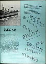 Altair (AKS 32) - Naval Cruise Book online yearbook collection, 1955 Edition, Page 6
