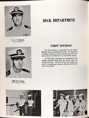 Annapolis (AGMR 1) - Naval Cruise Book online yearbook collection, 1966 Edition, Page 57