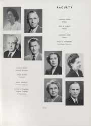 Page 17, 1951 Edition, University of Wisconsin River Falls - Meletean Yearbook (River Falls, WI) online yearbook collection