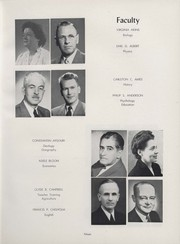 Page 17, 1952 Edition, University of Wisconsin River Falls - Meletean Yearbook (River Falls, WI) online yearbook collection