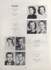 Page 18, 1952 Edition, University of Wisconsin River Falls - Meletean Yearbook (River Falls, WI) online yearbook collection