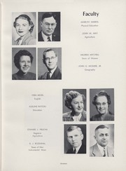Page 21, 1952 Edition, University of Wisconsin River Falls - Meletean Yearbook (River Falls, WI) online yearbook collection