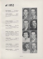 Page 29, 1952 Edition, University of Wisconsin River Falls - Meletean Yearbook (River Falls, WI) online yearbook collection