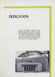 Page 7, 1954 Edition, University of Wisconsin River Falls - Meletean Yearbook (River Falls, WI) online yearbook collection