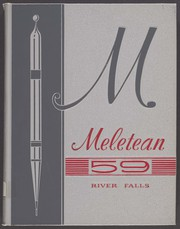 University of Wisconsin River Falls - Meletean Yearbook (River Falls, WI) online yearbook collection, 1959 Edition, Page 1