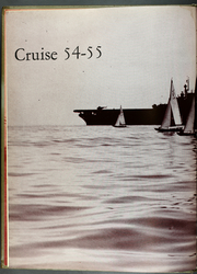 Antietam (CVS 36) - Naval Cruise Book online yearbook collection, 1955 Edition, Page 6