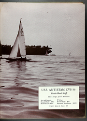 Antietam (CVS 36) - Naval Cruise Book online yearbook collection, 1955 Edition, Page 7