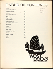 Page 5, 1969 Edition, Ashtabula (AO 51) - Naval Cruise Book online yearbook collection