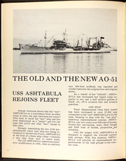 Page 6, 1969 Edition, Ashtabula (AO 51) - Naval Cruise Book online yearbook collection
