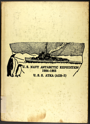 1955 Edition, Atka (AGB 3) - Naval Cruise Book