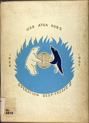 1957 Edition, Atka (AGB 3) - Naval Cruise Book