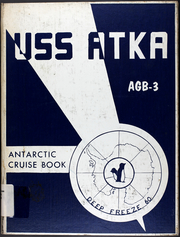 1960 Edition, Atka (AGB 3) - Naval Cruise Book