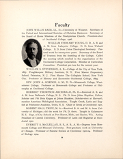 Page 13, 1907 Edition, Occidental College - La Encina Yearbook (Los Angeles, CA) online yearbook collection