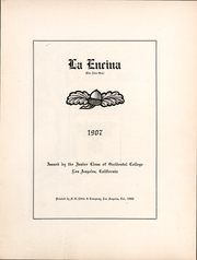Page 2, 1907 Edition, Occidental College - La Encina Yearbook (Los Angeles, CA) online yearbook collection