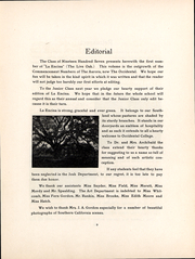 Page 8, 1907 Edition, Occidental College - La Encina Yearbook (Los Angeles, CA) online yearbook collection