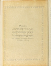 Page 16, 1925 Edition, Occidental College - La Encina Yearbook (Los Angeles, CA) online yearbook collection