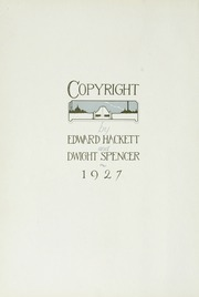 Page 10, 1927 Edition, Occidental College - La Encina Yearbook (Los Angeles, CA) online yearbook collection