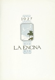 Page 7, 1927 Edition, Occidental College - La Encina Yearbook (Los Angeles, CA) online yearbook collection